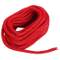 Red Made 3/4 Inch 25 FT Double Braid Nylon Dockline Dock Line Mooring Rope Double Braided Dock Line