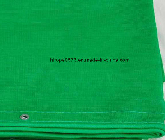 Green HDPE Plastic Buliding Shade Safety Net for Construction