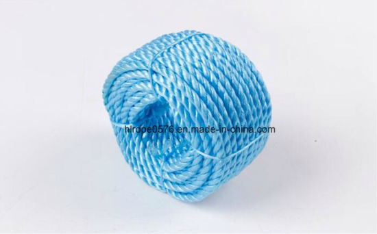 3-Stands High Quality Split Film PP Baler Twine Rope with Fibrillated Yarn